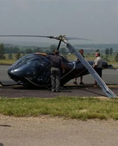 Killdozer Helicopter News Footage13