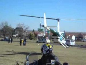Killdozer Helicopter News Footage
