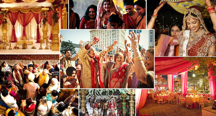Image That Represents The Indian Wedding Traditions.