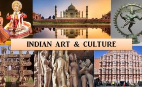Image That Represents The Indian Art & Culture.