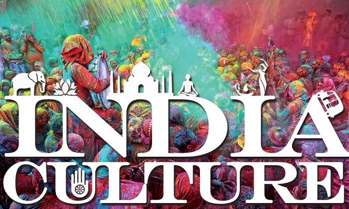 Beautiful Textual Representation of Indian Culture.
