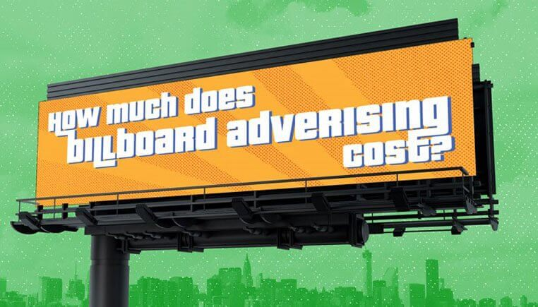 An Image Representing The Billboard Advertisement Cost.